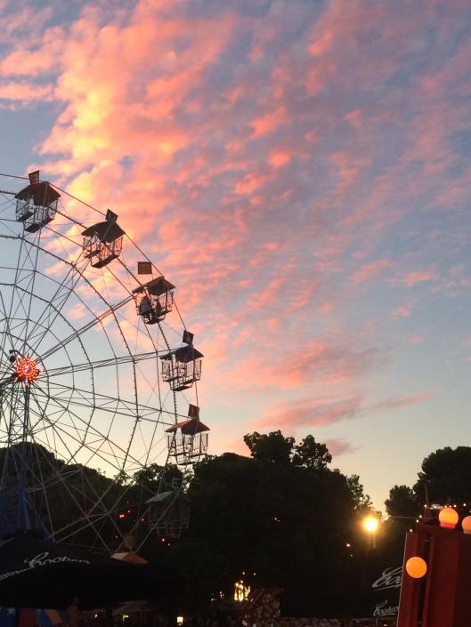 Ferris Wheel at dusk.